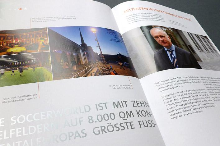 Alte Leipziger Messe Vermarktungsbroschüre // LEVG Leipziger Entwicklungs- und Vermarktungsgesellschaft mbH & Co. Grundstücks-KG