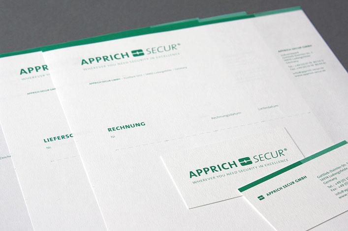 Apprich Secur GmbH Briefschaft