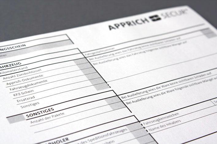 Apprich Secur GmbH Formular