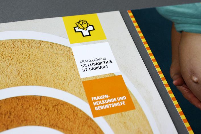 St. Elisabeth und St. Barbara Krankenhaus Broschüre Frauenheilkunde und Geburtshilfe