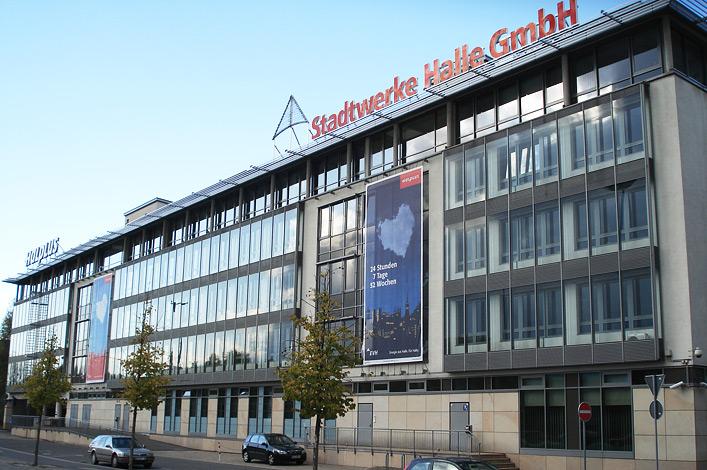 EVH Energieversorgung Halle // Image 24-7-52 // Gebäude Stadtwerke