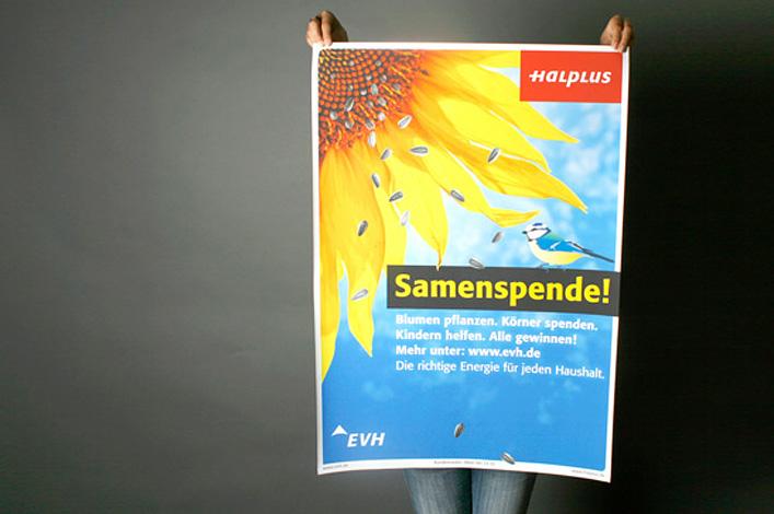 EVH Energieversorgung Halle // Kampagne Samenspende // Foto: ©AGENTUR KAPPA