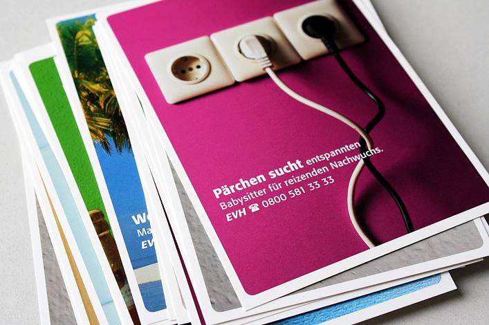EVH Energieversorgung Halle Postkartenserie
