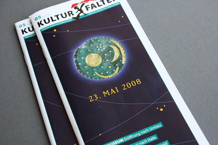 Landesmuseum Halle Ausstellung Himmelsscheibe Titel Kulturfalter