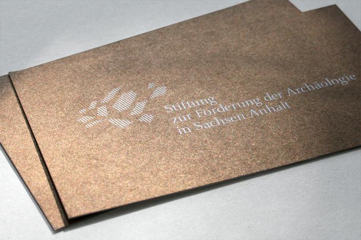 Stiftung zur Förderung der Archäologie in Sachsen-Anhalt Bronze