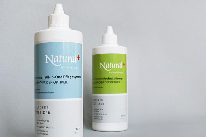 Dancker der Optiker Linsensystem Natural Plus Flaschen