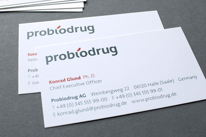 Probiodrug AG Visitenkarten