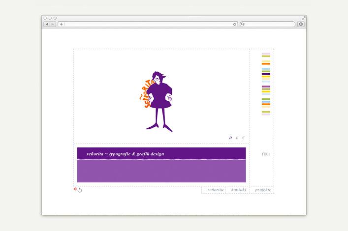 Señorita Rita Lauckner Website vor 2012 Start