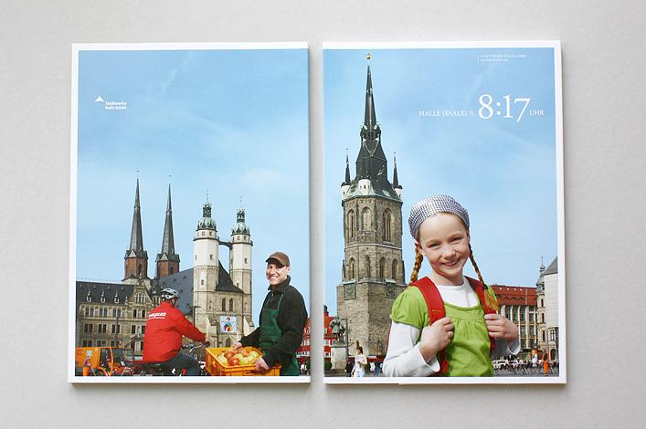 Stadtwerke Halle Geschäftsbericht 2009 Titel