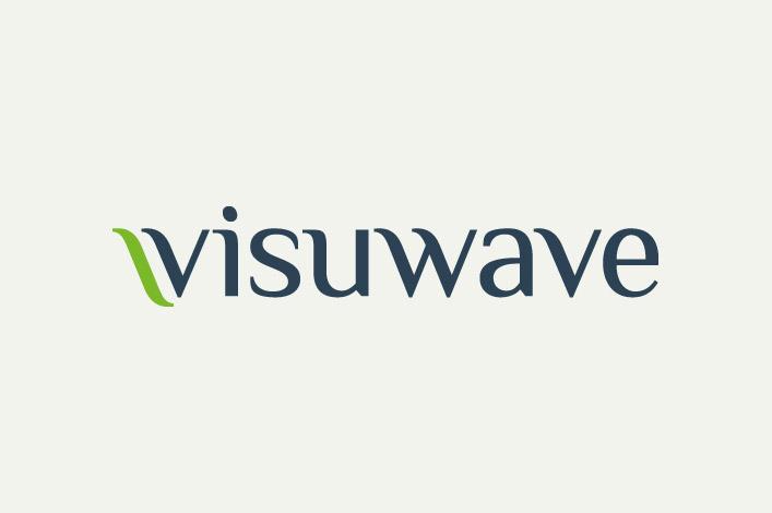 Brillenglaskonzept Visuwave Logo