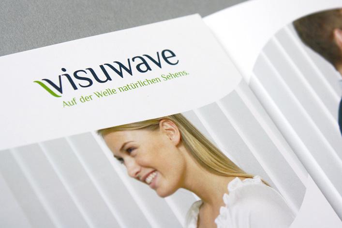 Brillenglaskonzept Visuwave Folder